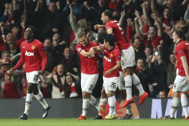 Manchester United's 10 Best Goals of the 2013/14 Premier League Season