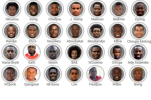 Cameroon 2014 FIFA World Cup Squad: Player-by-Player Guide