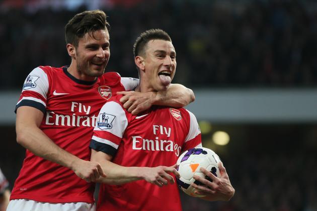 Arsenal's 10 Best Goals of the 2013/14 Premier League Season