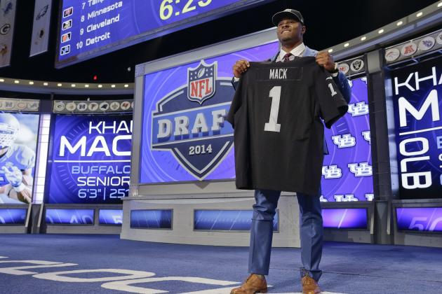 Breaking Down Oakland Raiders Roster After the 2014 NFL Draft