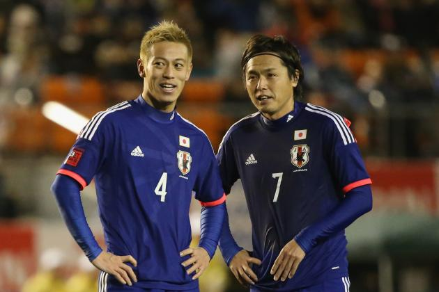Japan 2014 FIFA World Cup Squad: Player-by-Player Guide