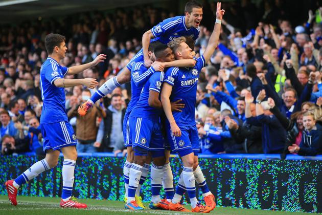 Chelsea's 10 Best Goals of the 2013/14 Premier League Season