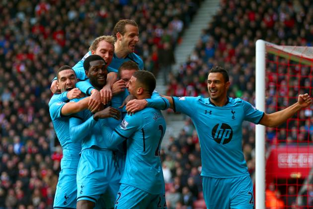 Tottenham Hotspur's 6 Best Goals of the 2013-14 Premier League Season