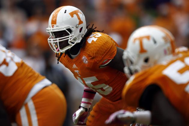 Tennessee: Breaking Down A.J. Johnson's Place on 1st 2015 NFL Draft Big Boards