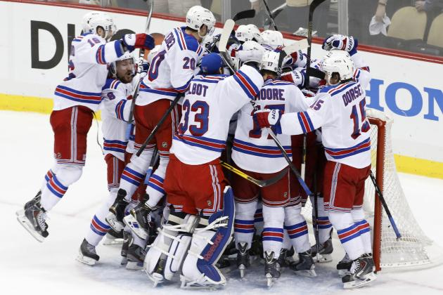 5 Incredible Stats from New York Rangers' Postseason