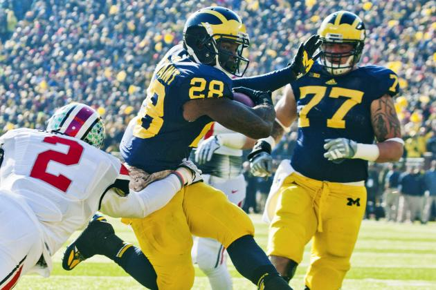Michigan Football: Power Ranking Landing Spots for Every Undrafted Free Agent