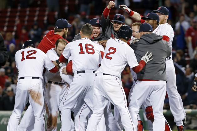 First-Quarter Grades for Boston Red Sox