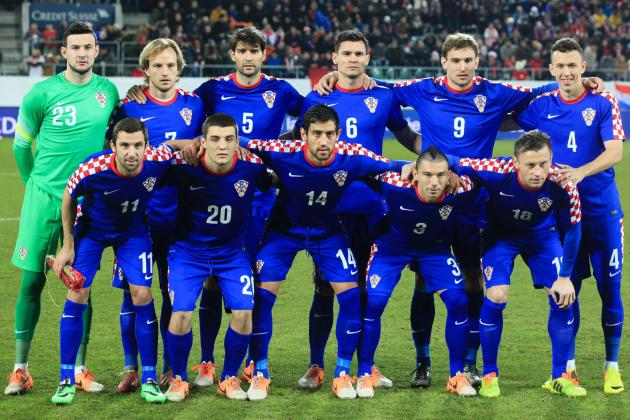 Croatia World Cup 2014 Squad: Player-by-Player Guide
