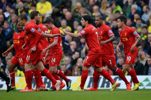Ranking Liverpool's Top 5 Players of 2013/14 Season