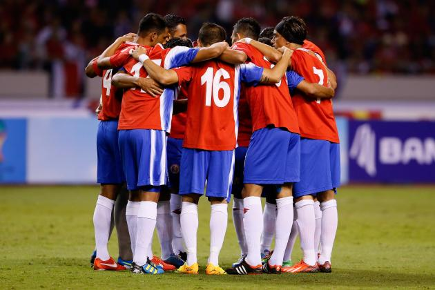 Costa Rica World Cup 2014: Team Guide for FIFA Tournament