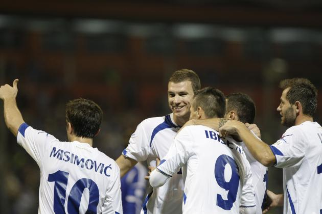 2014 World Cup: Ranking the Top 5 Players for Bosnia and Herzegovina