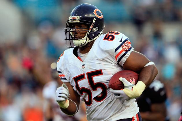 Early Projections for Chicago Bears' Final 53-Man Roster
