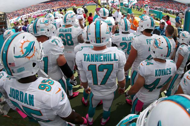 Early Projections for Miami Dolphins' Final 53-Man Roster