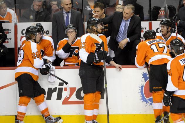 Projecting Philadelphia Flyers' Forward Lines for the 2014-15 Season