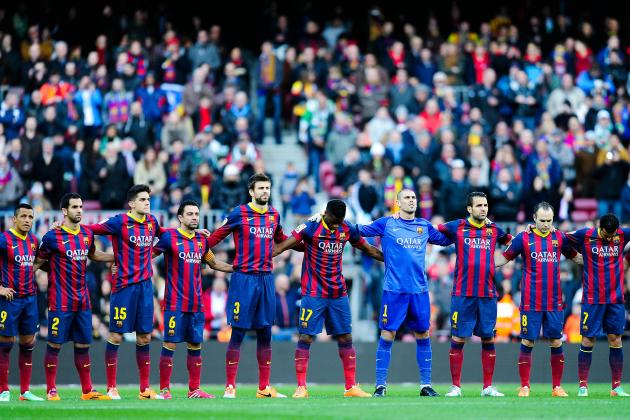 Power Ranking Every Barcelona Player from the 2013/14 La Liga Season