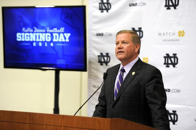 Notre Dame Football Recruiting: 4 Biggest Position Needs for Class of 2015