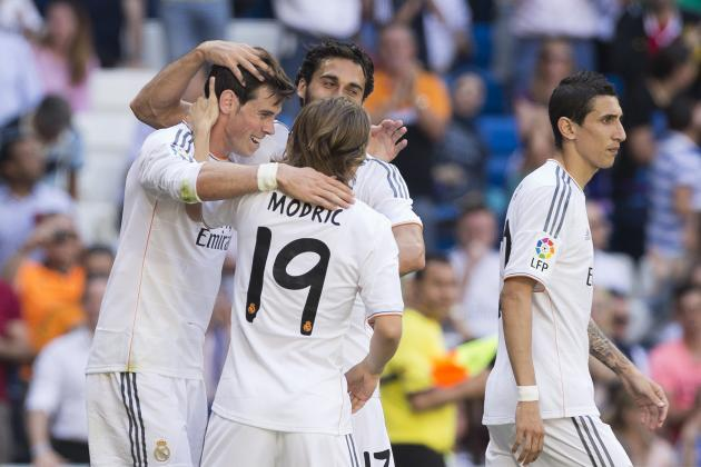 Power Ranking Every Real Madrid Player from the 2013/14 La Liga Season