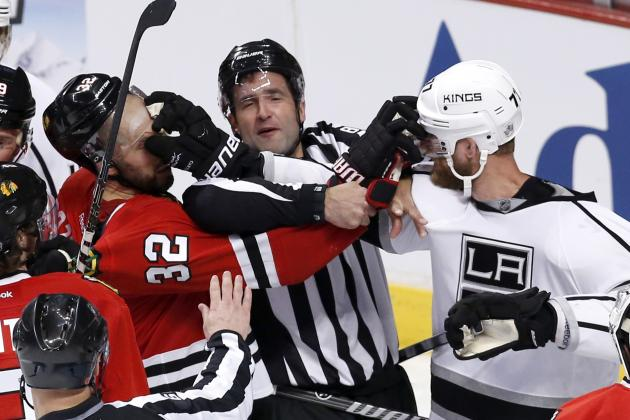 Los Angeles Kings vs. Chicago Blackhawks: Biggest Takeaways from Game 1