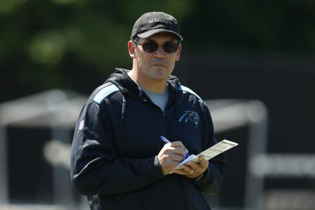 Projecting the Carolina Panthers 2014 Starting Lineup