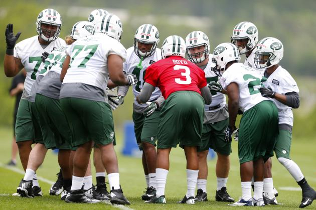 Projecting the New York Jets' Most Heated Roster Battles This Offseason