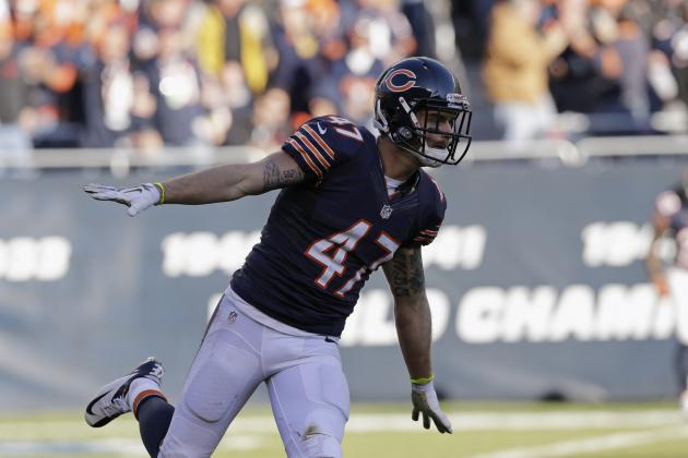 Projecting the Chicago Bears' Most Heated Roster Battles This Offseason