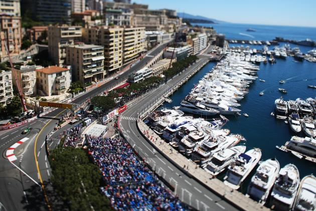 How Monaco Grand Prix Looks Before and After Formula 1 Arrives