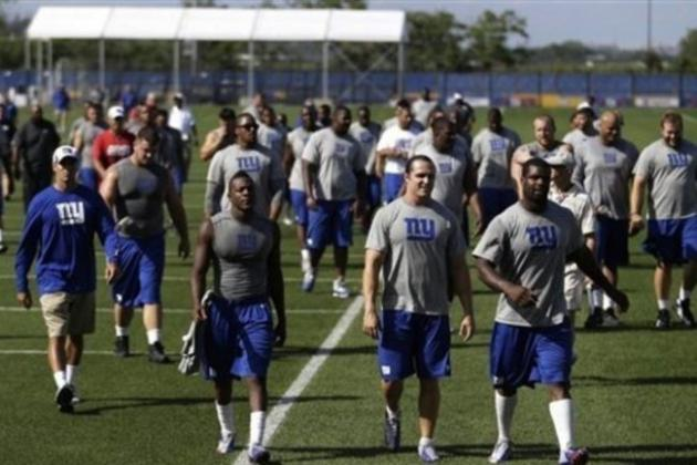 Top 5 Position Battles for the New York Giants