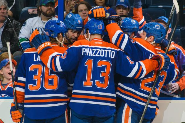 Predicting the Edmonton Oilers' Forward Lines for the 2014-15 Season