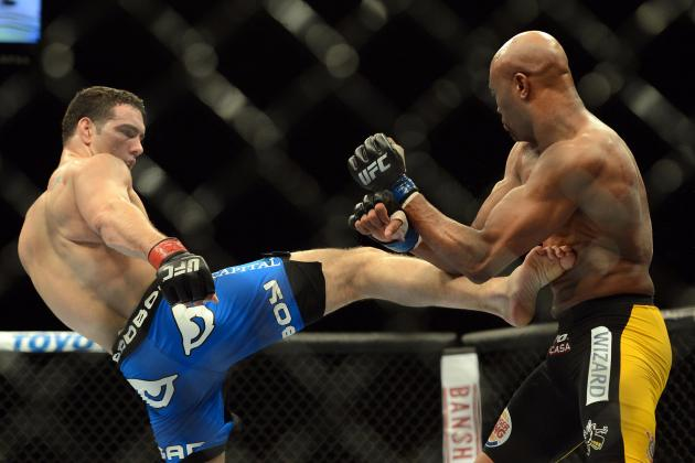 B/R MMA 125: Ranking the Top 15 Middleweights in Mixed Martial Arts