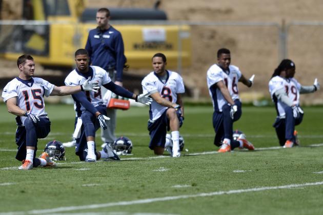 Assessing Every Denver Broncos UDFA's Chances of Making Final Roster