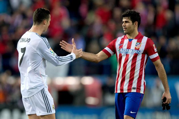Power Ranking Atletico and Real Players on Champions League Contribution So Far