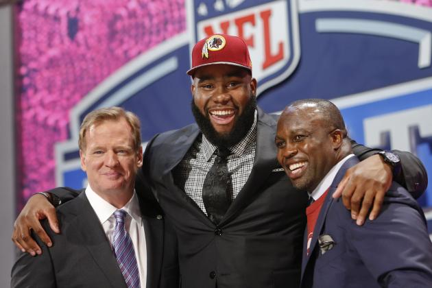 Washington Redskins: Biggest Matchups Facing Morgan Moses in Rookie Season