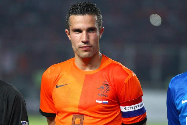 Manchester United Forward Robin van Persie's Top 5 Netherlands Moments
