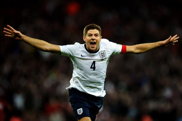 Steven Gerrard: Top 6 England Moments for Three Lions and Liverpool Captain