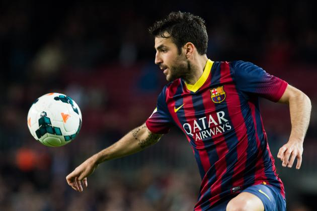 Neymar, Cesc Fabregas and 6 Issues for Luis Enrique to Address at Barcelona
