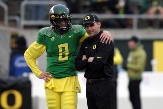 Oregon Football: Mark Helfrich's 4 Biggest Challenges for Ducks in 2014