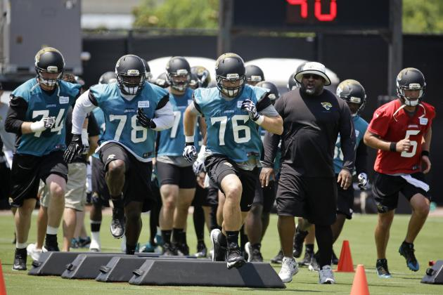 Jacksonville Jaguars' Top 5 Position Battles Heading into the 2014 NFL Season