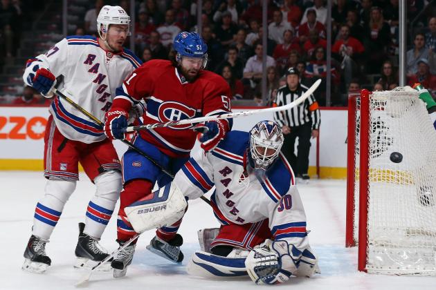 4 X-Factors in New York Rangers' NHL Playoff Series vs. Canadiens