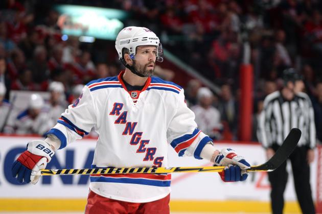 New York Rangers' Best Players Thus Far in NHL Playoff Series vs. Canadiens