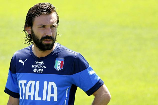 Juventus Midfielder Andrea Pirlo's Top 6 Italy Moments
