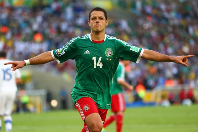 Manchester United Forward Javier Hernandez's Top 6 Mexico Moments