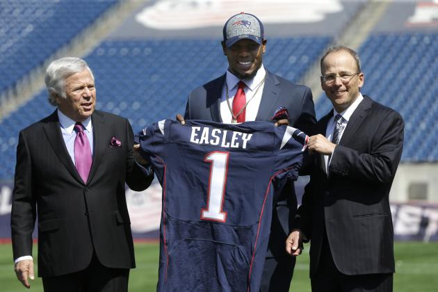 The Most Intriguing Rookie Storylines at Patriots' OTAs
