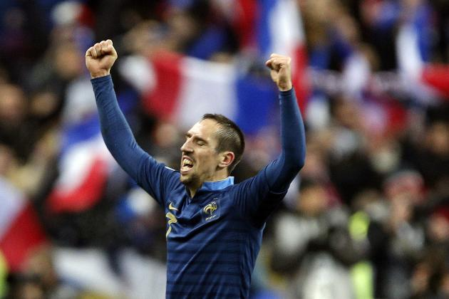 Bayern Munich Winger Franck Ribery's Top 6 France Moments