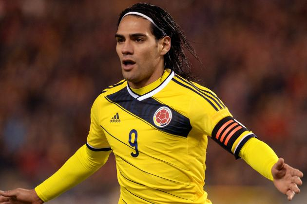 Monaco Forward Radamel Falcao's Top 6 Colombia Moments
