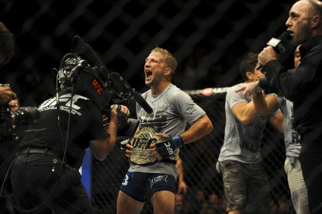 UFC 173 Results: 3 Fights for T.J. Dillashaw to Take Next