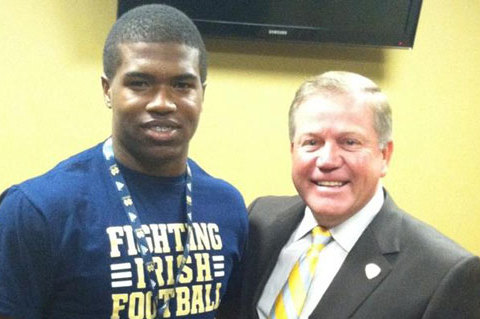 Notre Dame Football: Analyzing Irish's Top 5 2015 Recruiting Targets