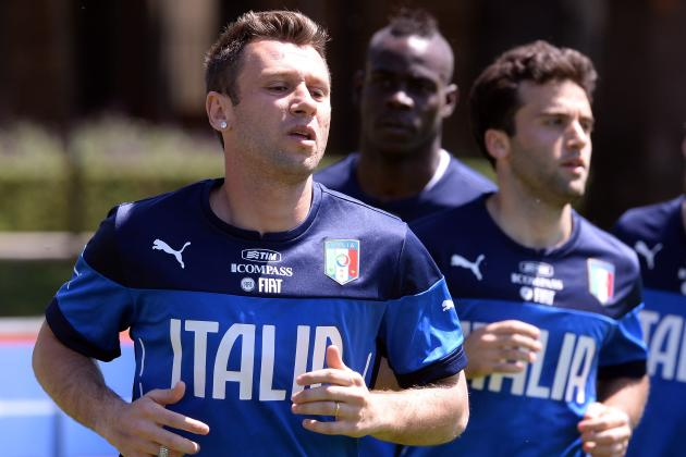 Antonio Cassano vs. Giuseppe Rossi: Who Should Italy Take to Brazil?