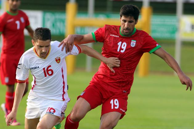 Iran vs. Montenegro: 6 Things We Learned from Goalless Friendly Draw