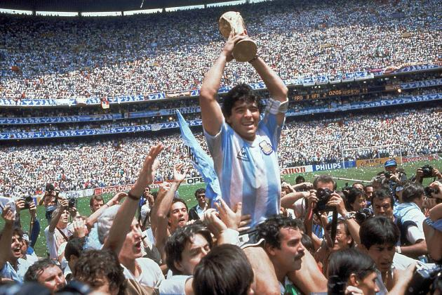 Ranking Argentina's Top 10 World Cup Goals