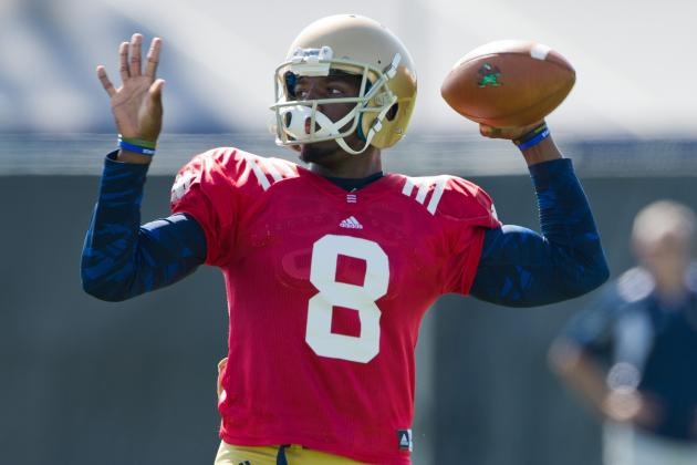 Power Ranking College Football's 10 Best QB Depth Charts for 2014